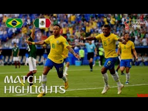 Brazil vs Mexico 2-0 - All Goals & Extended Highlights - 02/07/2018 HD World Cup