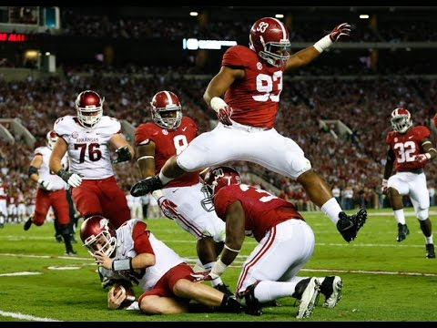 Jonathan Allen (Alabama) vs. Tennessee (2015)