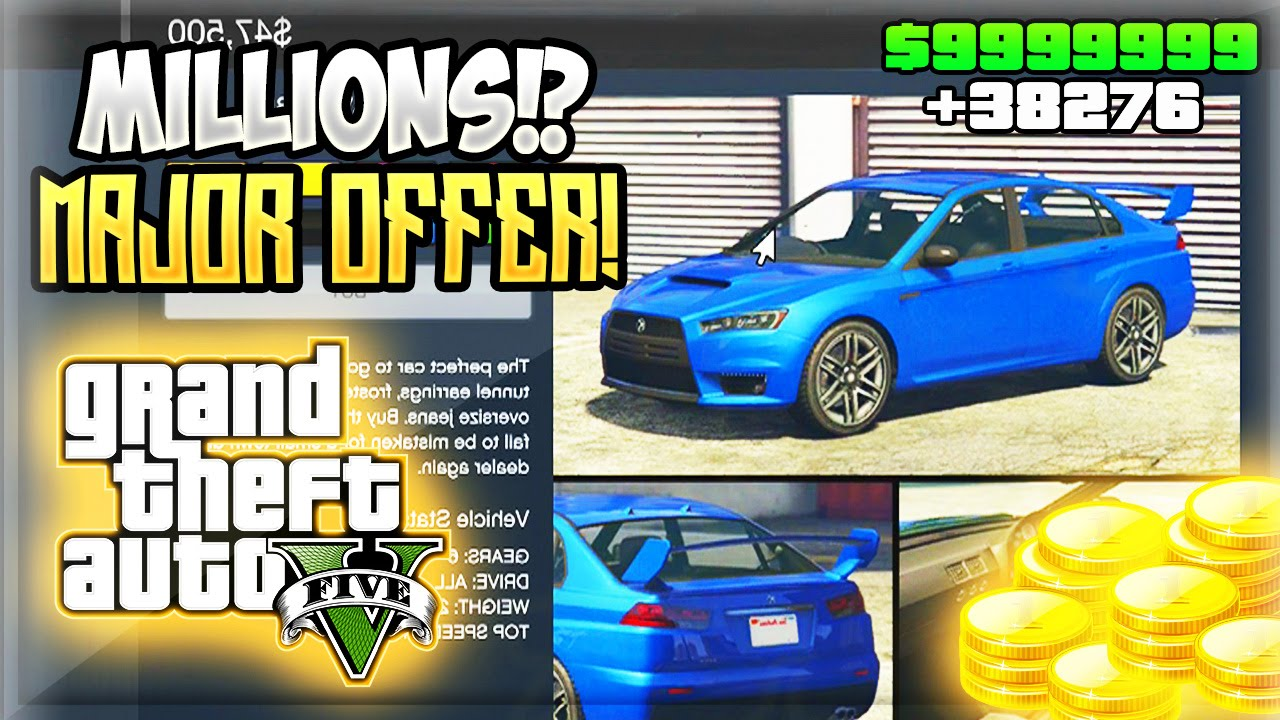 how to get free millions in gta 5