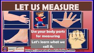 Measure Length For Kİds | Grade 1 Maths For Kids by Smart School | Class 1 Maths Let us Measurement