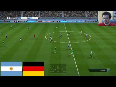 FIFA 14 Argentina vs Alemania - ESPECIAL FINAL DEL MUNDIAL 2014 || En Español XBOX ONE
