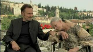 Vanessa Redgrave and Franco Nero talk about