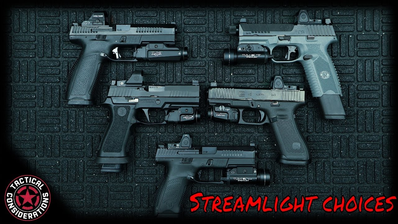 Which Streamlight For You TLR1, TLR7, TLR9   New Owners Guide