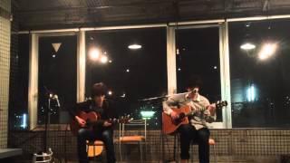 2012.5.9 Acoustic Night 呉 Felixにて ギターデュオ[パセリ] Left:森川...
