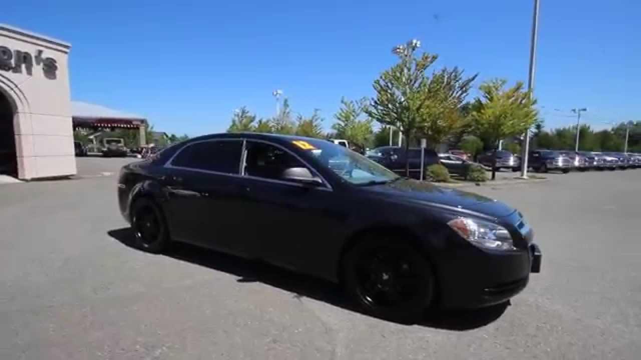 2012 Chevrolet Malibu LS | Black | CF174799 | Everett | Snohomish ...