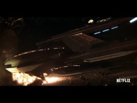 Star Trek Discovery  Klingon Ship Crash Into USS Europa  Admiral Ship Self Destruct