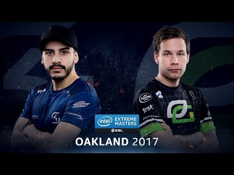 CS:GO - SK vs. OpTic [Overpass] Map 1 - Quarterfinal - IEM Oakland 2017