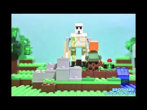 [부꾸형제-부꾸TV] 마인크래프트 레고 스톱모션-minecraft Stop Motion (21123)