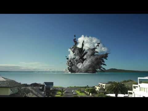 Auckland Museum Volcano Simulation  - Auckland Museum