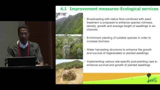 Emiru Birhane – Improving and sclaing up exclosures as forest land rehabilitation model in Ethiopia