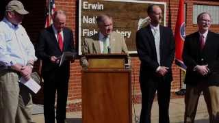 TWRA NEWS: Long-term funding for Federal Trout Hatcheries