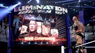 WWE ELIMINATION CHAMBER 2013 - PPV LIVE (WWE 13 Machinima)