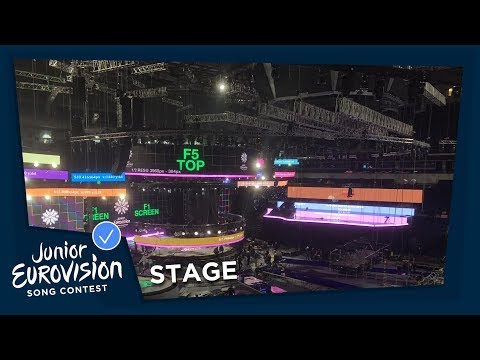The 2018 Junior Eurovision Stage Is Ready!