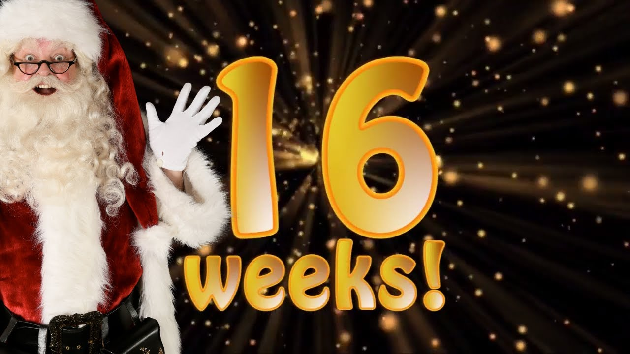 Weeks To Christmas 2020 The Real Santa Claus  16 weeks to Christmas!   Santa's Christmas