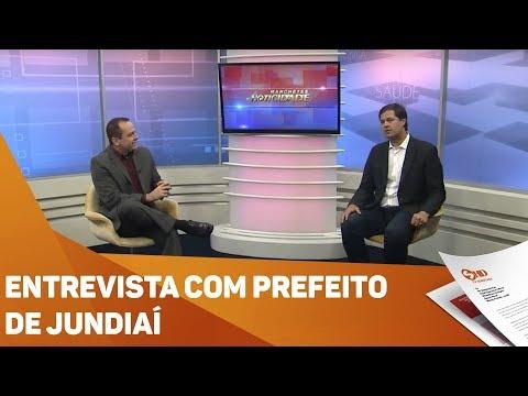 Entrevista com prefeito de Jundiaí - TV SOROCABA/SBT