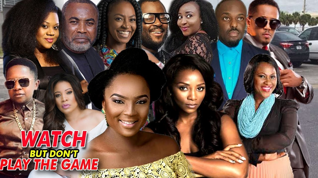 Watch But Don't Play The Game  3&4 - Latest Nigerian Nollywood Movie/African Movie Family M