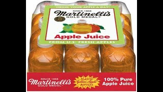 Proving That The Martinelli's Apple Juice Sounds Like an Apple When You Bite It!!!