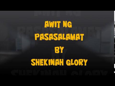 Awit Ng Pasasalamat lyrics by Melvin Carson - original ...