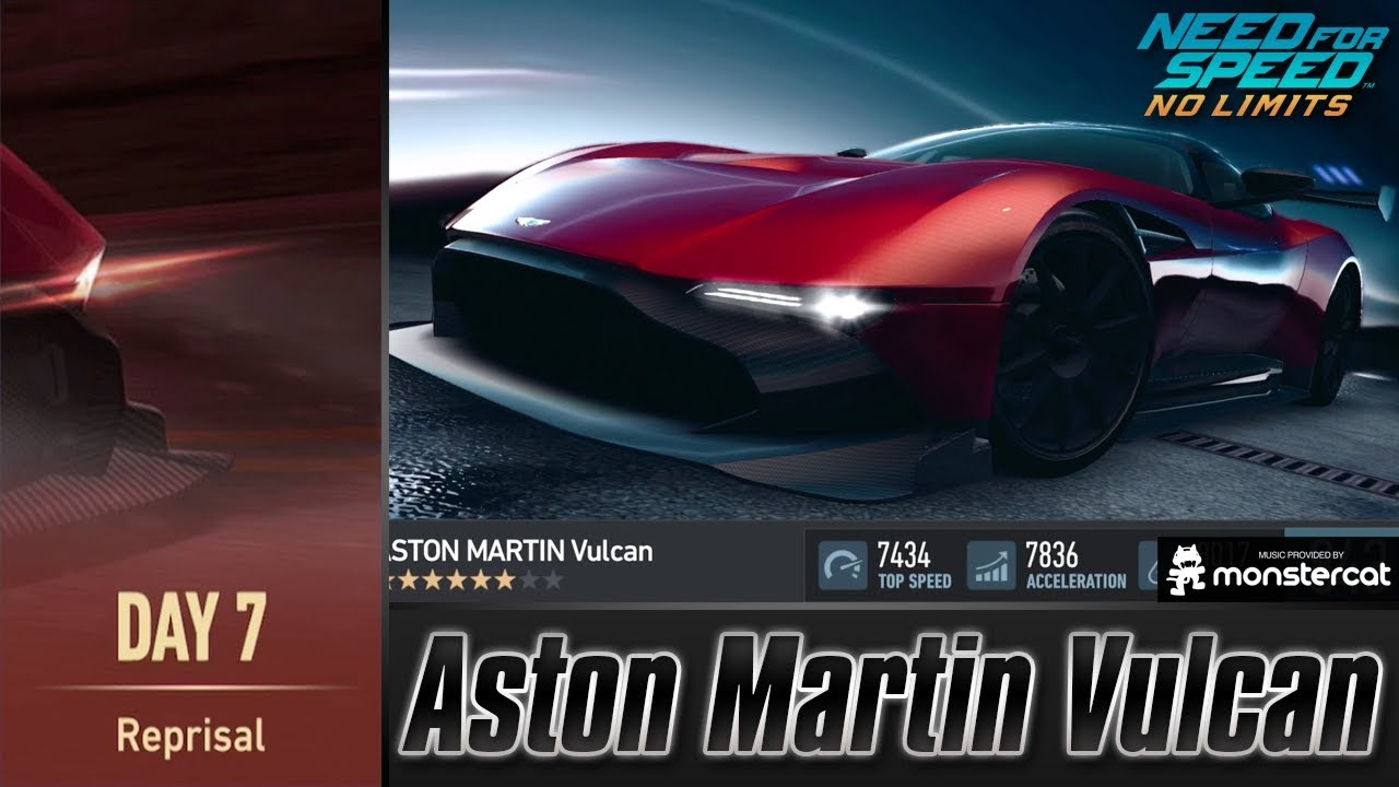 Need For Speed No Limits Aston Martin Vulcan Speedbreakers Day 7 Reprisal Youtube