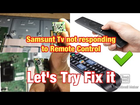 Samsung Smart TV 7 Series Remote Control Not Working.issue TV OR Remote! Let's Try Fixing It
