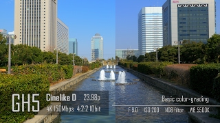 Panasonic GH5 - 4:2:2 10bit vs GH4 - 4:2:0 8bit [4K]