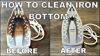 How To Clean Iron Bottom - EASY