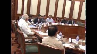 PM Narendra Modi chairs Vibrant Gujarat Summit 2017 meeting in Delhi