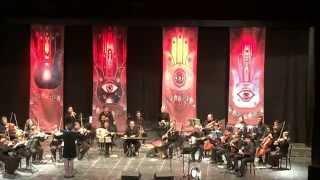 האנדלוסית אשקלון בליווי הזמרת ריימונד אבוקסיס ומייק קרוצ'י תיאטרון הצפון  26.1.2015