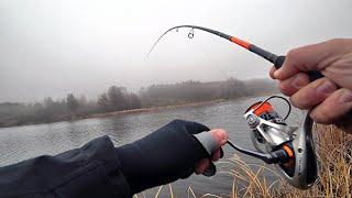 Рыбалка на два новых ТРЕХМЕТРОВЫХ(даже 3.15) спиннинга... Рыбалка и прочие радости :)