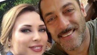 Salman Khan And Iulia Vantur Together