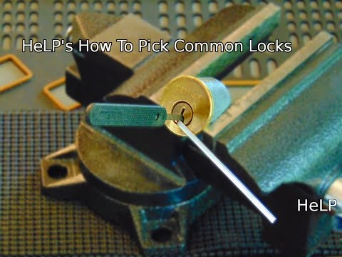 [42] How to Pick Common Locks Quickly and Effectively