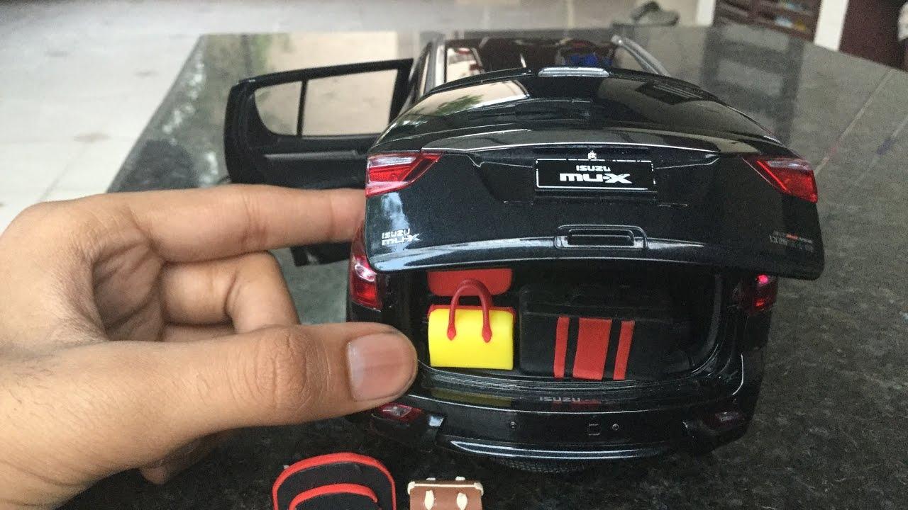 Diecast Unboxing 2017 Isuzu Mu X 4x4 1 18 Paudi Models