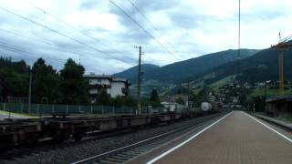 Traxx RTC/Lokomotion BR 186 290/106 à Matrei (ligne du Brenner)