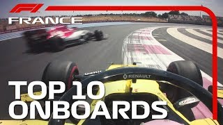 Team-Mate Duels,  Frantic Finishes And The Top 10 Onboards | 2019 French Grand Prix