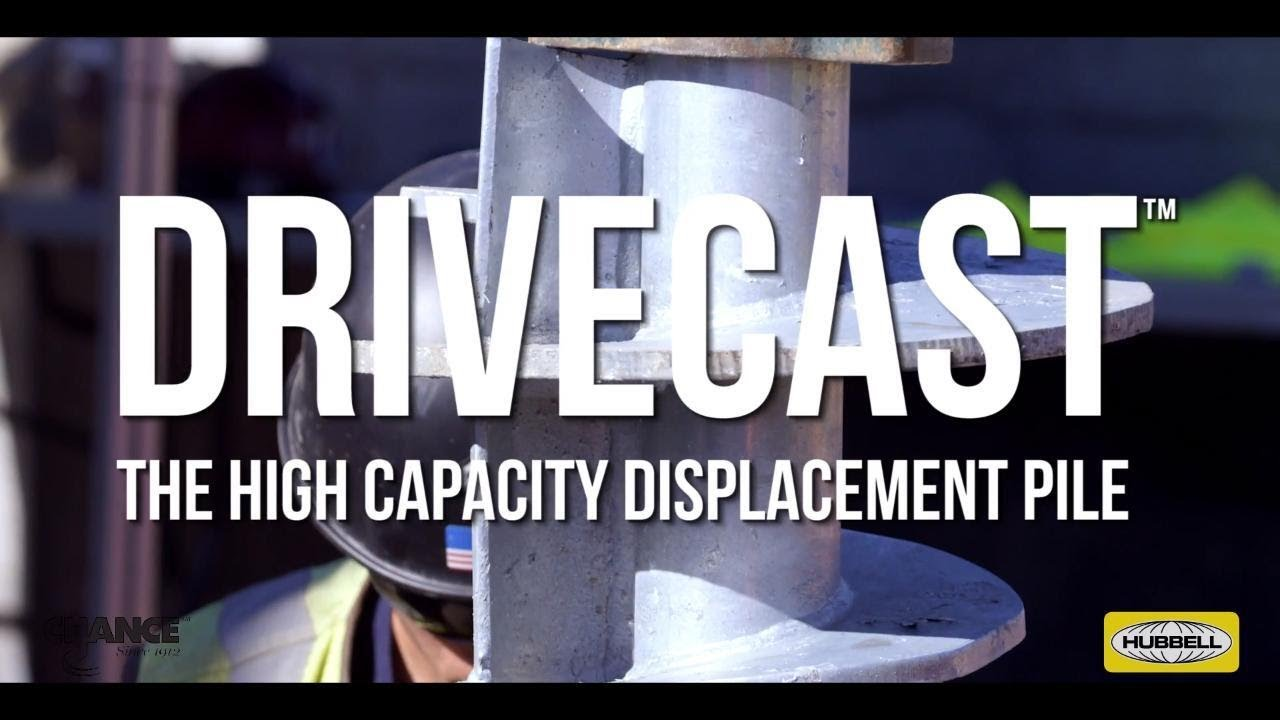 Chance Drivecast™ Screw Displacement Piles - Intech