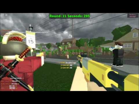 Zombie Fps Games In Roblox Roblox Nerf Fps Zombie Youtube
