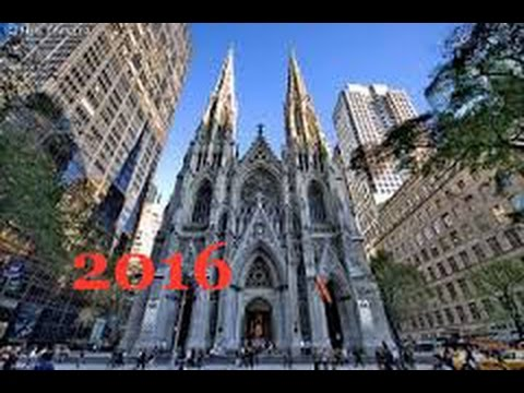 St.Patrick's Cathedral NYC Tour 2016 , 1080 HD ep.2
