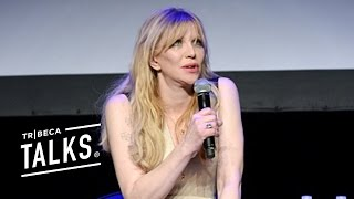 Courtney Love Gets Emotional at  New York premiere of KURT COBAIN: MONTAGE OF HECK
