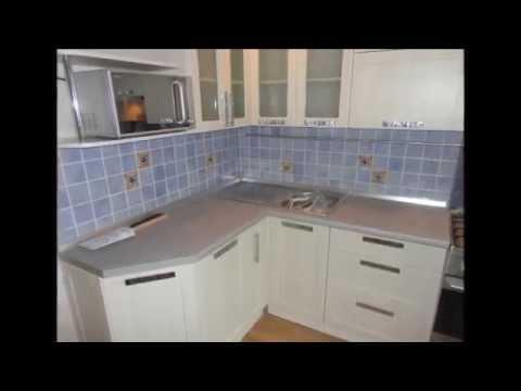 Реставрация шкафчиков на кухне. - YouTube