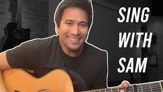 Makita Kang Muli - Sam Milby (Sugarfree cover) with winner Faye! | SING WITH SAM