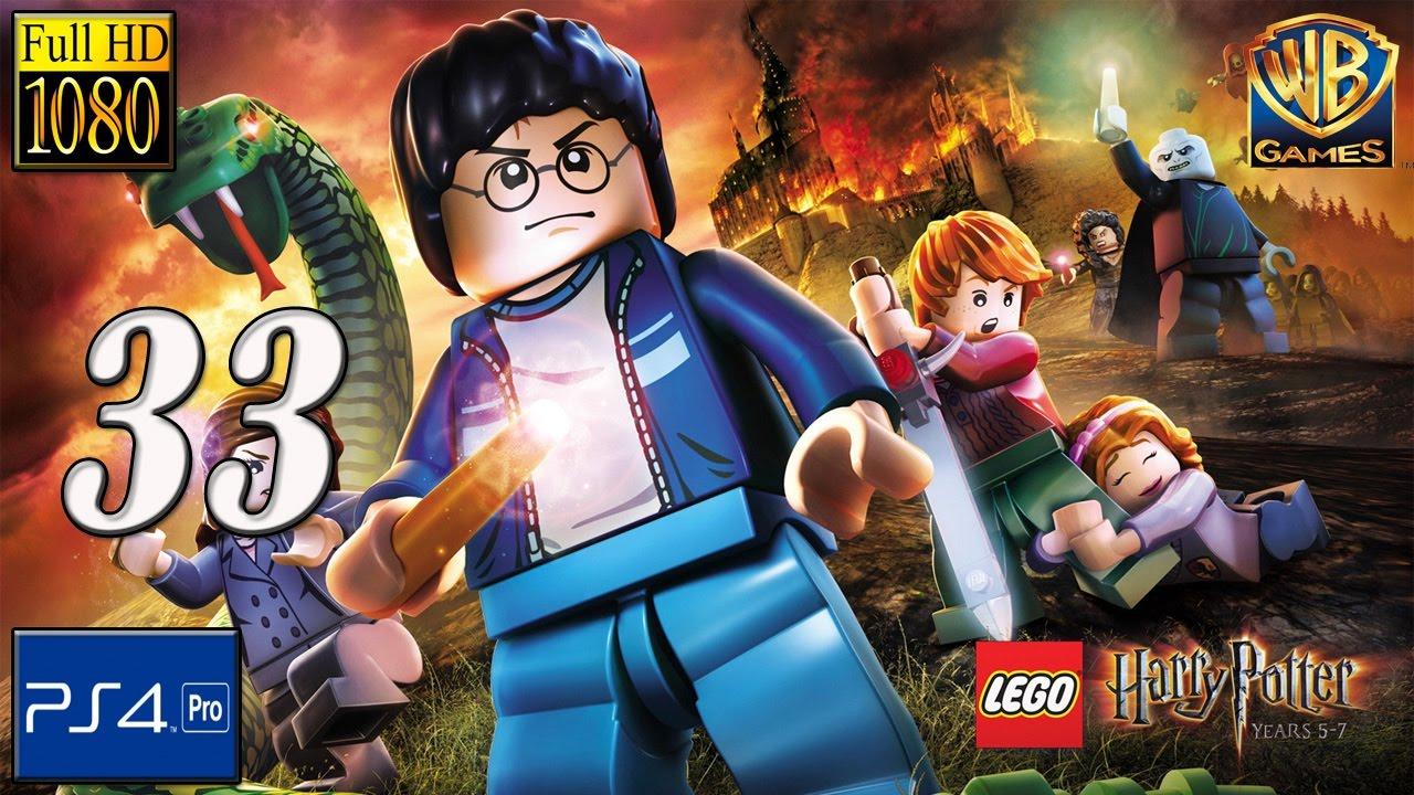 LEGO HARRY POTTER COLLECTION | Year 6 Profesor Slughorn - el Horrocrux | PS4 Capitulo 33 español ...