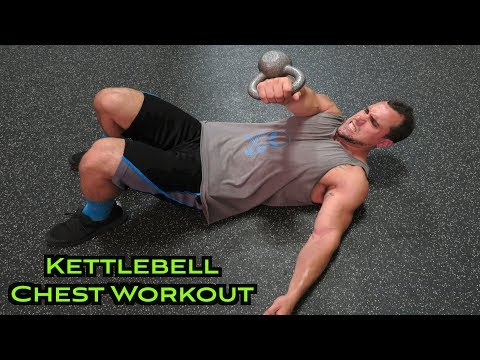 Intense 5 Minute Kettlebell Chest Workout