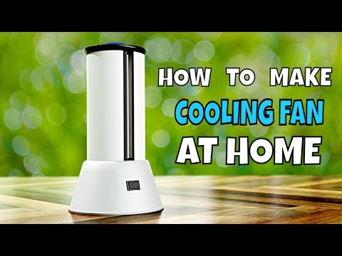 DIY crafts - How To Make Tower Fan at Home