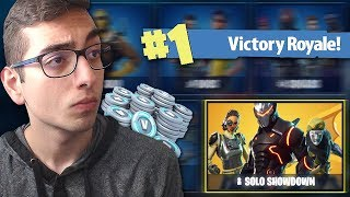 #1 SOLO SHOWDOWN! *LIVE* 50.000 V-BUCKS WINNEN! (Fortnite: Battle Royale)