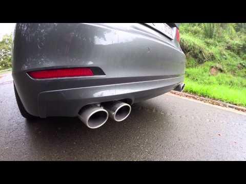 Alpina D3 BiTurbo F30 Walkaround Exhaust Sound Acceleration 0-276km/h