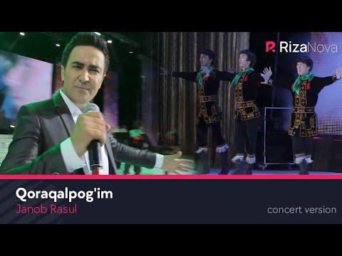 Janob Rasul - Qoraqalpog'im | Жаноб Расул - Коракалпогим (concert version 2017) #UydaQoling