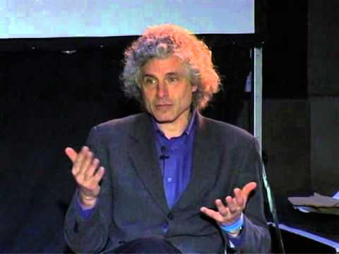 Experiment Marathon 2007: Steven Pinker in conversation with Marcy Kahan