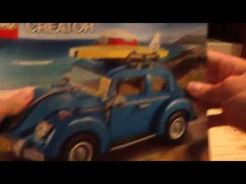 Lego 2016 Creator Expert Volkswagen Beetle 10252 Set Review