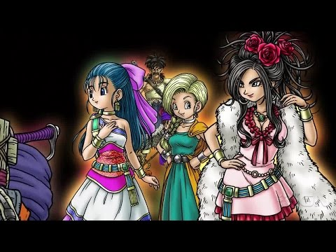 Dragon Quest V: Hand of the Heavnly Bride - iOS/Android Trailer