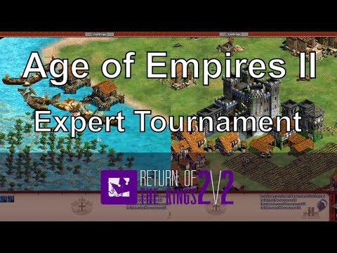 Aoe2: Dark Age Transport Landing on a Water Map (RotK Semi Finals)